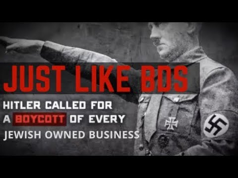Is BDS Nazi Policy?  A Video by Calev Myers