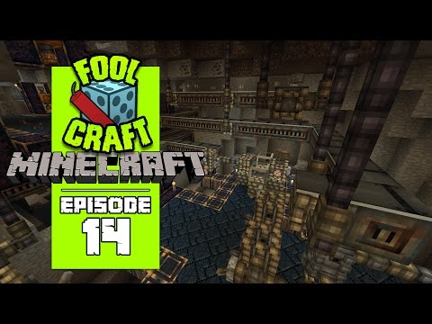 Minecraft: FOOLCRAFT - #14 SIMPLY THE BEST ...conveyors! (Modded Minecraft)