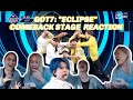 """GOT7 """"ECLIPSE"""" Comeback Stage Reaction [WE LIVE FOR THIS CHOREO!]"""