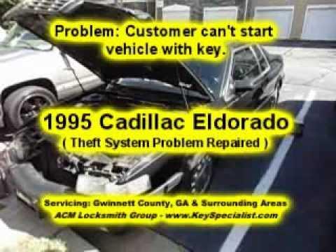 Atlanta Ga 1995 Cadillac Eldorado Ignition Theft System Problem Repaired You
