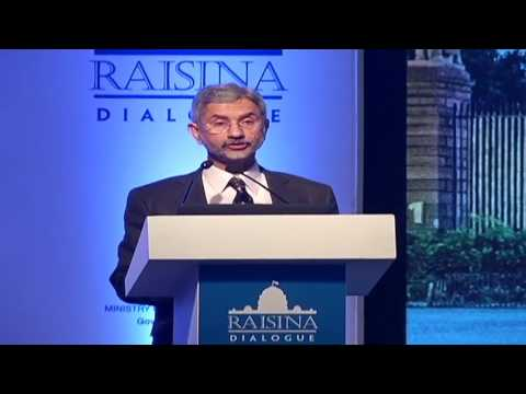 Theme address by Foreign Secretary at Second Raisina Dialogue in New Delhi