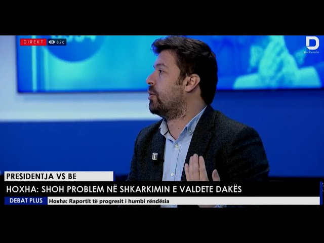 Zgjim Hyseni në Debat Plus, RTV Dukagjini - 20 10 2021
