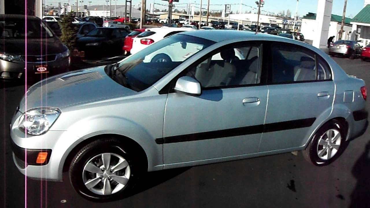 2008 kia rio sedan lx youtube. Black Bedroom Furniture Sets. Home Design Ideas