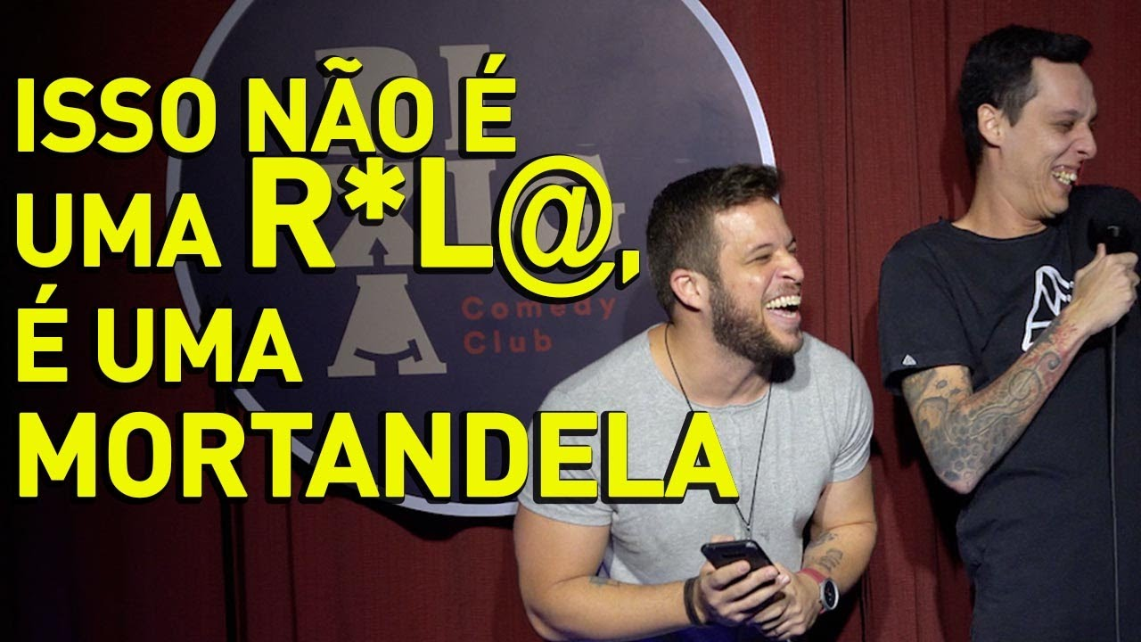 FLAVIO ANDRÁUDIO PARTE 2 Feat. NIL AGRA - STAND UP COMEDY