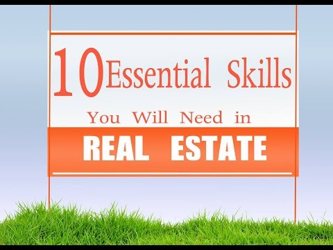 Real Estate Humor - 10 Essential Skills For Real Estate Agents