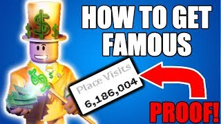 How To Become Rich and Famous on ROBLOX 2017 (BEST GUIDE + PROOF)