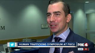 John Walsh S Son Callahan Walsh Speaks At Human Trafficking Symposium At Fgcu Strategic advancment & partnerships senior specialist, national center for missing & exploited children. john walsh s son callahan walsh speaks at human trafficking symposium at fgcu