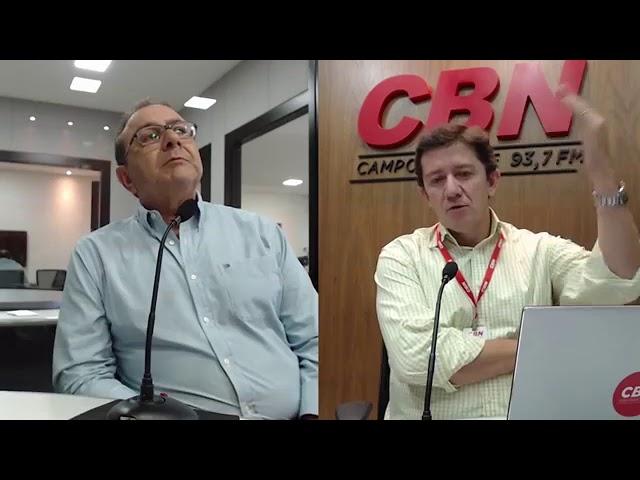 Entrevista CBN Campo Grande: Resala Elias Junior - médico e pecuarista
