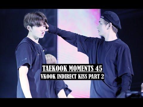 Taekook Moment 45 | Vkook Indirect Kiss Part 2