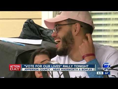 Colorado 'Vote for Our Lives' rally includes survivors of Parkland, Columbine, Aurora shootings