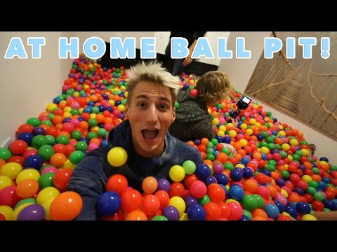 Thumbnail: HE BUILT A BALL PIT IN HIS HOUSE!