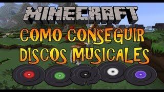 MineCraft 1.7.5  Como Conseguir Discos Musicales