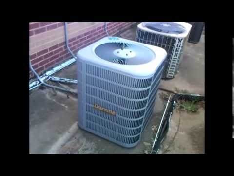 2014 Ducane 2 5 ton Central Air Conditioner Running!
