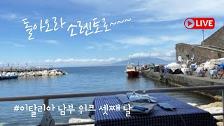 이탈리아 남부여행 소렌토 (feat.찐 해산물 맛집)~…