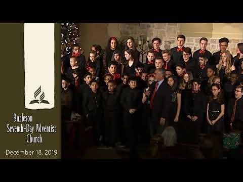 Burleson Adventist School Christmas Program - 2019