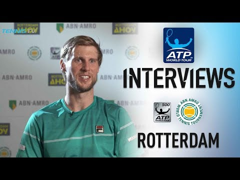 Seppi Happy With Game Ahead Of Federer Clash Rotterdam 2018