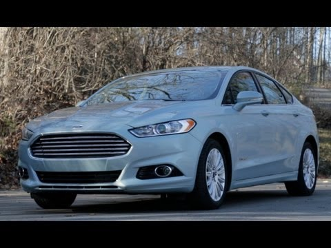 Car and Driver: Tested : 2013 Ford Fusion Hybrid - Review - CAR and DRIVER
