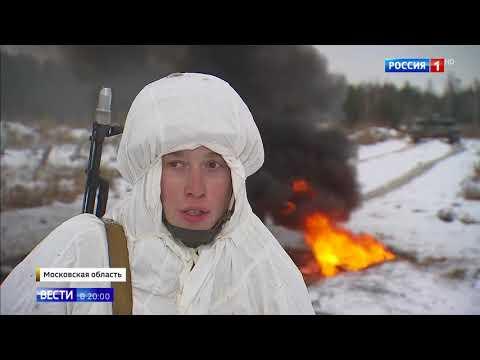 Тренировка курсантов Московского высшего командного училища