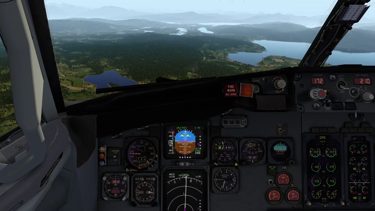 X-plane 10 – ENVA to ENEV with IXEG 737 and Xenviro