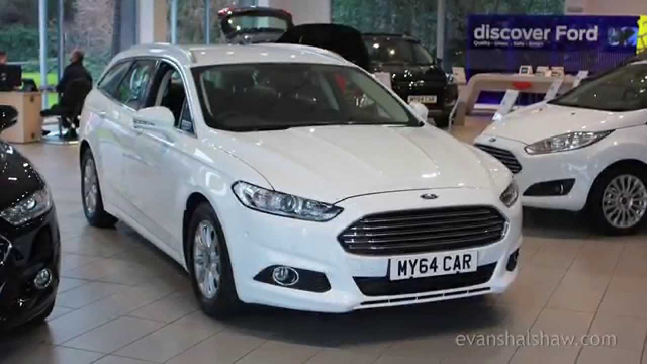 & New 2015 Mondeo Zetec Estate Review - YouTube markmcfarlin.com