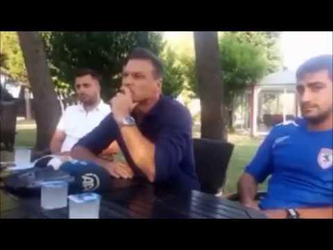 Alpay Ozalan ile gazetecilerin tartışması!