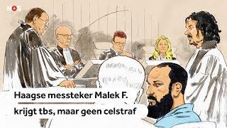 Tbs voor Haagse messteker Malek F.