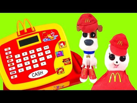 The Secret Life of Pets Movie Max & Gidget Work at McDonald
