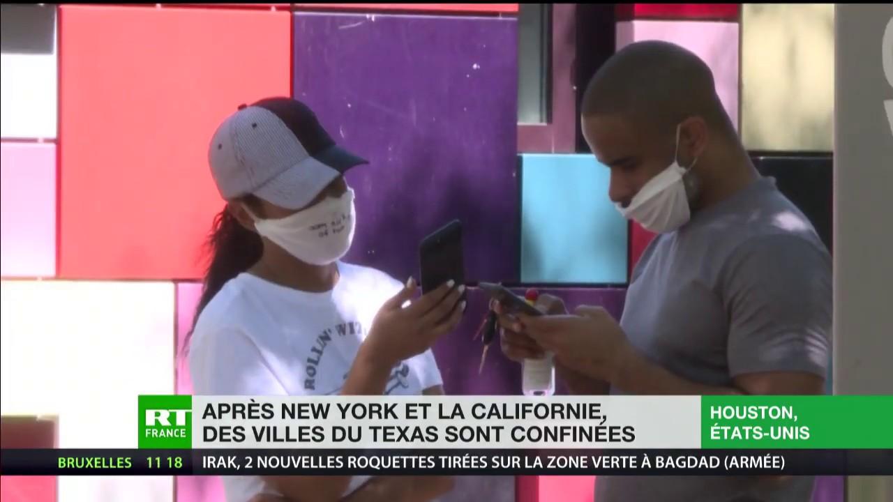 Coronavirus : après New York et Los Angeles, les villes du Texas sont confinées