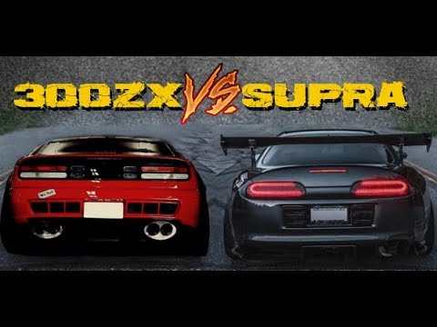 SUPRA VS 300ZX -||- Versus Series (PART 1)