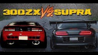 SUPRA VS 300ZX -  - Versus Series (PART 1)