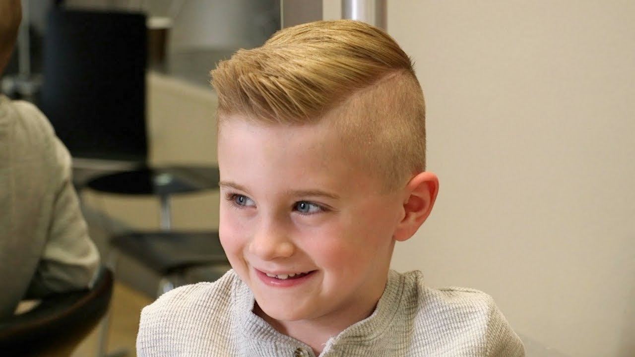 Boy Hair Style: Haircut Tutorial For Young Boys
