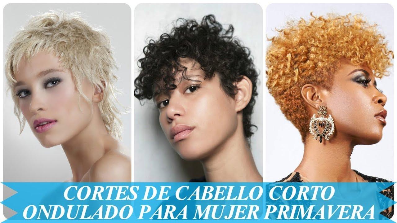 Modelos De Cortes De Cabello Corto Ondulado Para Mujer Primavera 2018