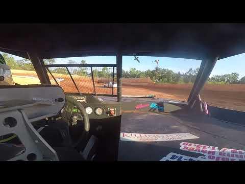 East Lincoln Speedway 6-29-19 Pro 4 Front Cam Hot Laps #2 Alexus Motes