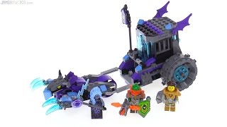 LEGO NEXO Knights Ruina's Lock n' Roller review! 70349