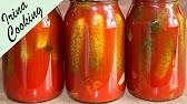 Огурцы в томате (вкуснющие). Видеорецепт - YouTube