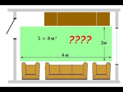 Как рассчитать площадь теплого пола