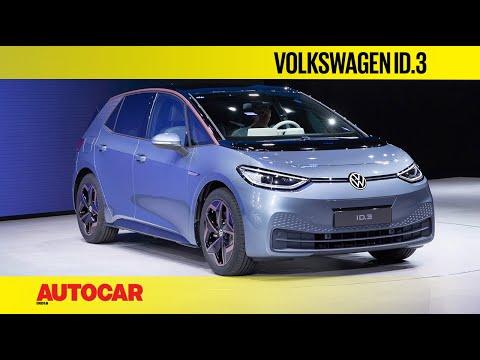 Volkswagen ID.3 First Look | Frankfurt Motor Show 2019 | Autocar India