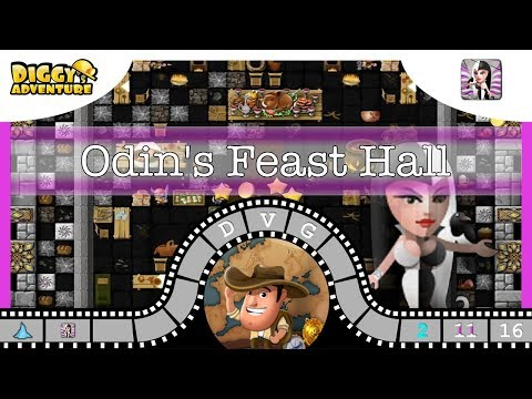 [~Hel~] #16 Odin's Feast Hall - Diggy's Adventure