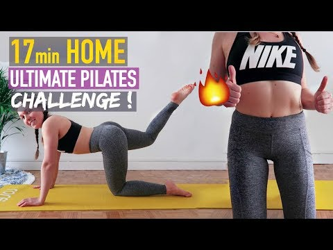 HOME WORKOUT: PILATES FOR LONG, LEAN & HEALTHY BODY !!