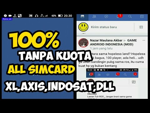FACEBOOK LITE FREE 100% NO KUOTA WORK 2019 || INTERNET GRATIS