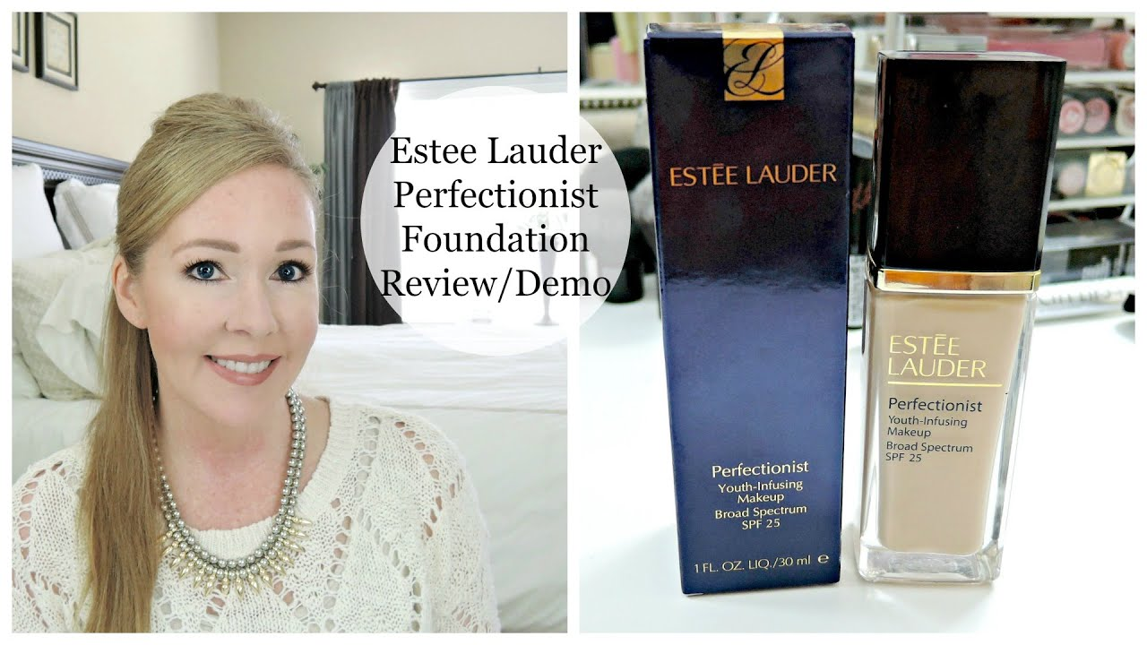 Estee Lauder Perfectionist Foundation | REVIEW+DEMO - YouTube