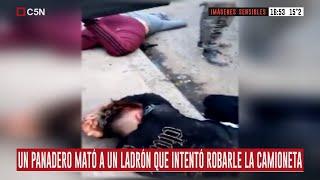 Rafael Castillo: Un panadero mató a un ladrón que intentó robarle la camioneta