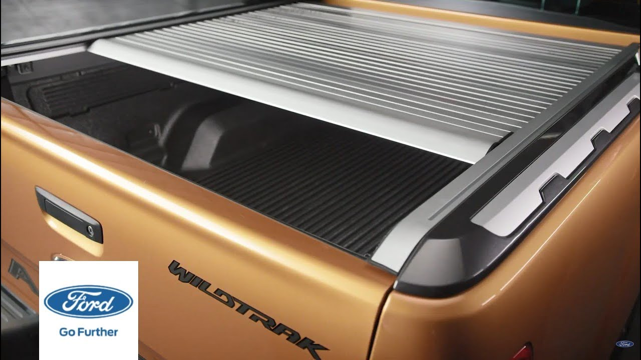 The 2020 Ford Ranger Wildtrak Power Roller Shutter Ford