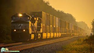 HD: Chicagoland Railfanning in August 2015