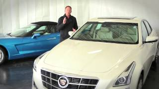 2014 Cadillac CTS Snow Driving Review Grand Rapids