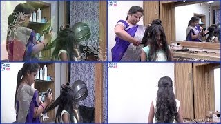 Blodry ||How to Easy Blowout/Blowdry Routine | Wet to Dry ||Pooja Beauty Parlour In hyderabad
