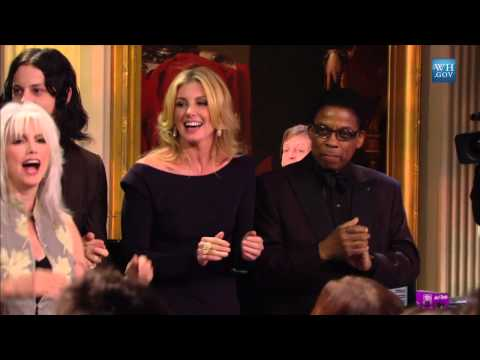 """Paul McCartney Performs """"Hey Jude"""" At The Gershwin Prize"""