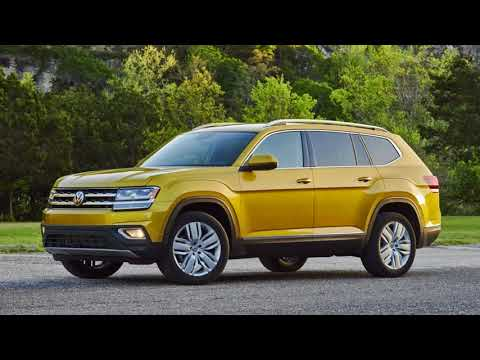 Volkswagen plans an 'Atlas family' of SUVs and crossovers