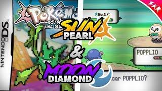 Pokemon Sun & Moon For Nintendo DS | Best Pokemon NDS Rom Hack | Pokemon Sun Pearl & Moon Diamond