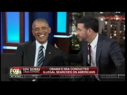 Obama's NSA Conducted Illegal Searches On Americans - Lou Dobbs